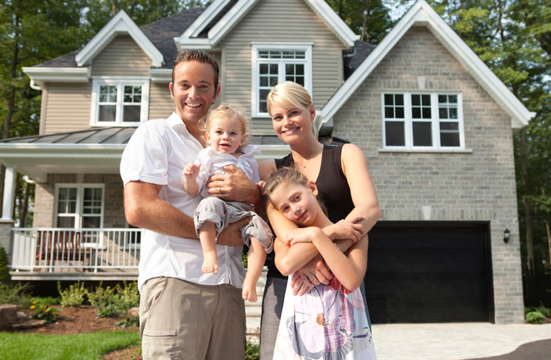 Florida home with home insurance coverage